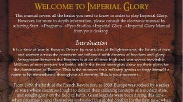 "Imperial Glory ""Manual (Руководство пользователя)"""
