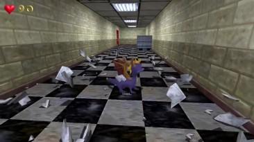 Дракон Спайро пробрался в Black Mesa в ролике мода Half-Life: Year of the Dragon