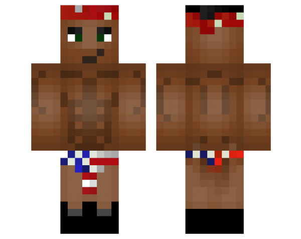 "Minecraft ""Скин Ricardo Milos"""