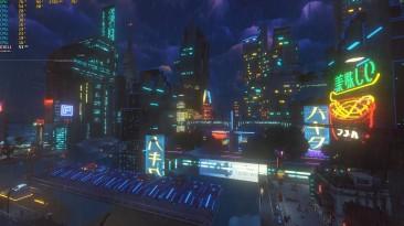 13 минут геймплея Cloudpunk с видом от первого лица