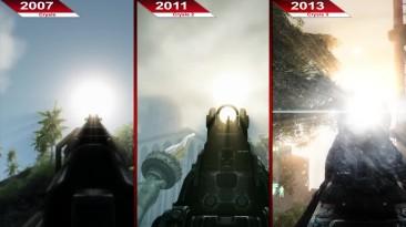Сравнение   Crysis против Crysis 2 против Crysis 3   ULTRA   RX 580