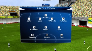 "FIFA 10 ""Легенды Бразилии"""