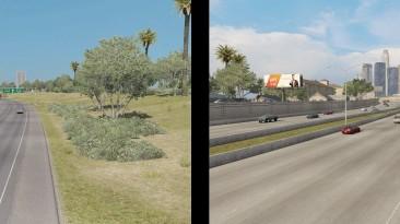 "American Truck Simulator ""Изменение городских магистралей и трафика v12 (1.40.x)"""
