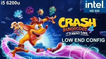"Crash Bandicoot 4: It's About Time ""Оптимизация для слабых ПК"""