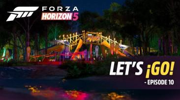 Forza Horizon 5 - финальный эпизод Let's Go! запланирован на 18 октября