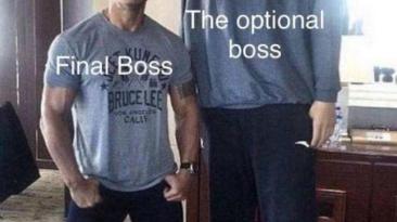 Финальный и опциональный босс