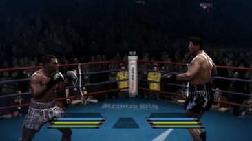Fight Night Round 4 - пример эмуляции PS3 версии