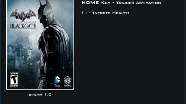 Batman: Arkham Origins ~ Blackgate: Трейнер/Trainer (+1: Бессмертие / Immortality) [1.0] {LinGon}