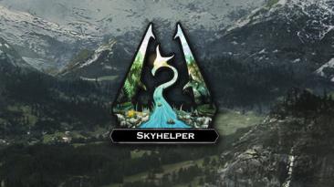 "Skyrim ""Skyhelper v1.3.9 Alpha [на стадии разработки] На Андроид"""