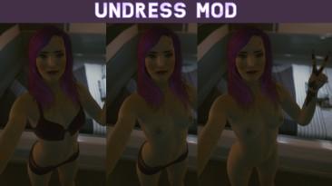 "Cyberpunk 2077 ""Undress Mod новая версия Nudmod v 1.5"""