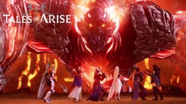 Обзорный геймплейный трейлер Tales of Arise