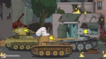 Помощь с выше - Мультики про танки