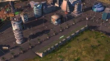 "Command & Conquer 3: Tiberium Wars ""Карта - Crater Valley"""