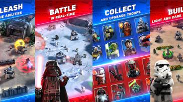 Подробности о стратегии для мобильных устройств Lego Star Wars Battles