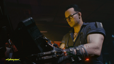 "Cyberpunk 2077 ""Мгновенный разбор предметов"""