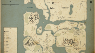 Фанат создал карту GTA: San Andreas в стиле 1907 года
