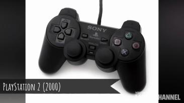 Эволюция игровых контроллеров 1977 - 2018 гг.