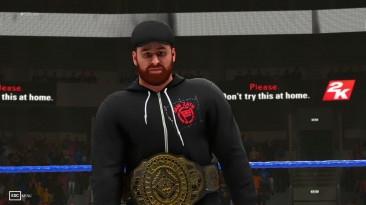 "WWE 2K19 ""Intercontinental Championship 2020 MOD"""