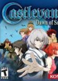 Обложка игры Castlevania: Dawn of Sorrow
