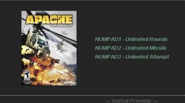 Apache: Air Assault : Трейнер (+3) [1.0 (v1.0.0.1)] {KelSat}
