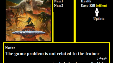 Gods Will Fall: Трейнер/Trainer (+2) [CODEX] {Abolfazl.k}