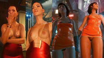 "Cyberpunk 2077 ""Раскрепощенные NPC"""