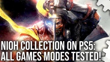 Digital Foundry протестировали Nioh Collection для PlayStation 5