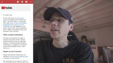 YouTube удаляет видео по Pokemon GO за порнографию