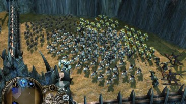 """Lord of the Rings: BFME II The Rise of the Witch-king """"Карта - Elven Fortress"""""""