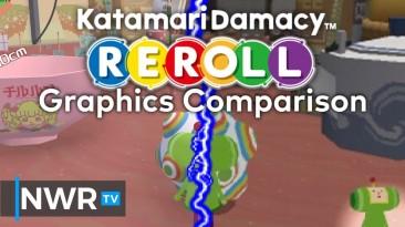 Katamari Damacy Reroll Видеосравнение Версий для NS И PS2