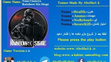 Tom Clancy's Rainbow Six: Siege: Трейнер/Trainer (+4) [1.0] {Abolfazl.k}