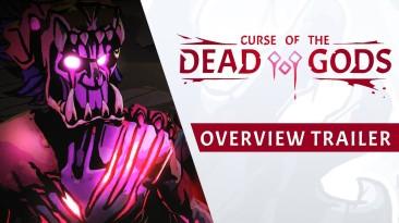 """Геймплейный трейлер Curse of the Dead Gods - """"рогалика"""" про жадного расхитителя гробниц"""