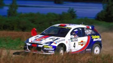 "Colin McRae Rally 04 ""Скин: Ford Focus RS WRC01 Martini (2001)"""
