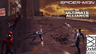 "Spider-Man: Web of Shadows ""Скин Marvel Ultimate Alliance"""