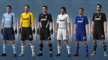 "PES 2010 ""Real Madrid 08/09 Kit Set by jvinu2000"""
