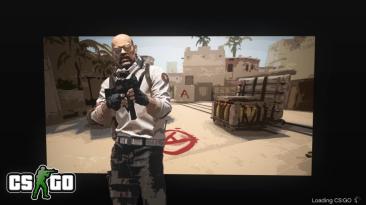 Фанат предложил новый вариант экрана загрузки CS:GO в стилистике GTA