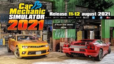 Car Mechanic Simulator 2021 выйдет в середине август на ПК и консолях