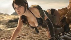 Косплей Молчуньи из Metal Gear Solid 5: The Phantom Pain