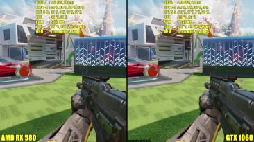 Call Of Duty Black Ops 3 GTX 1060 Vs AMD RX 580 Сравнение