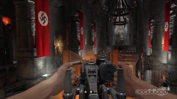 "Wolfenstein The Old Blood ""Геймплей на максимальных настроках графики - Ultra Settings PC"""