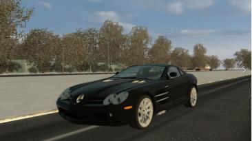 "City Car Driving ""Mercedes SLR McLaren 2005 Update (v1.5.8 - 1.5.9.2)"""