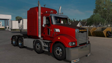 "American Truck Simulator ""Mack Superliner v1.0 TSA (1.39.x)"