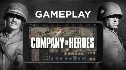 Новый игровой процесс Company of Heroes Mobile освещает оптимизации для сенсорного экрана