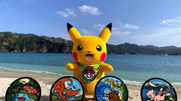 Еще больше специальных люков с изображениями покемонов в Японии