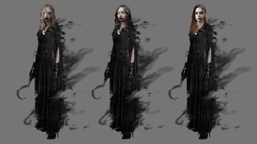 "Resident Evil: Village ""Внешность дочерей по концепту"""