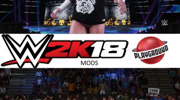 "WWE 2K18 ""CM Punk 10 Attire MOD"""