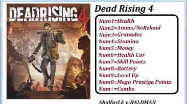 Dead Rising 4: Трейнер/Trainer (+11) [Update 1] {Abolfazl.k}