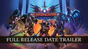 Полная версия карточной боевой ролевой игры Cardaclysm: Shards of the Four выйдет в Steam 26 февраля