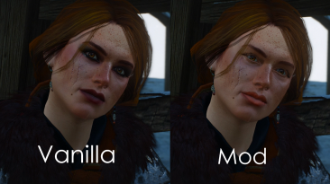 "Witcher 3: Wild Hunt ""Cerys an Craite - No Makeup\Керис без макияжа"""