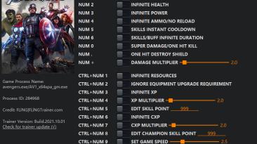 Marvel's Avengers: Трейнер/Trainer (+15) [1.0 - 2.0.3] {FLiNG}